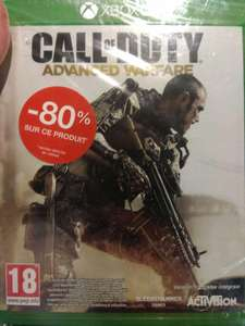 Sélection de jeux video en promotion - Ex : Jeu Call of duty : Advanced Warfare sur Xbox One