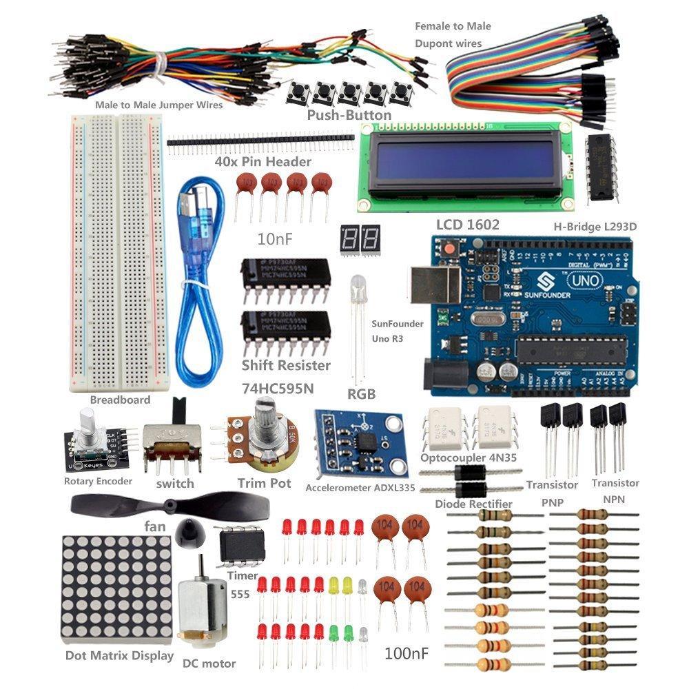 Kit Arduino UNO R3 SunFounder