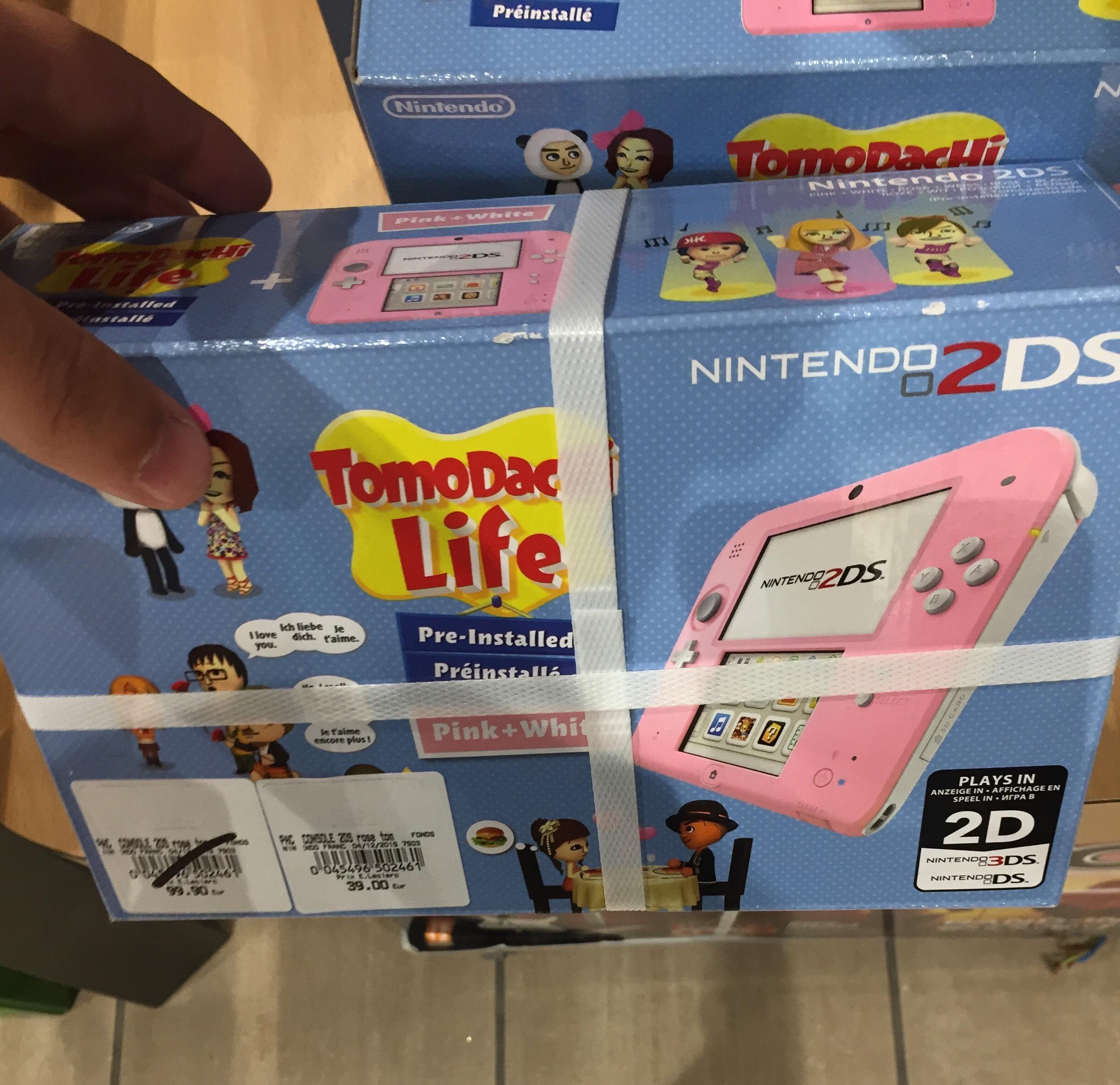 Console Nintendo 2DS Tomodachi