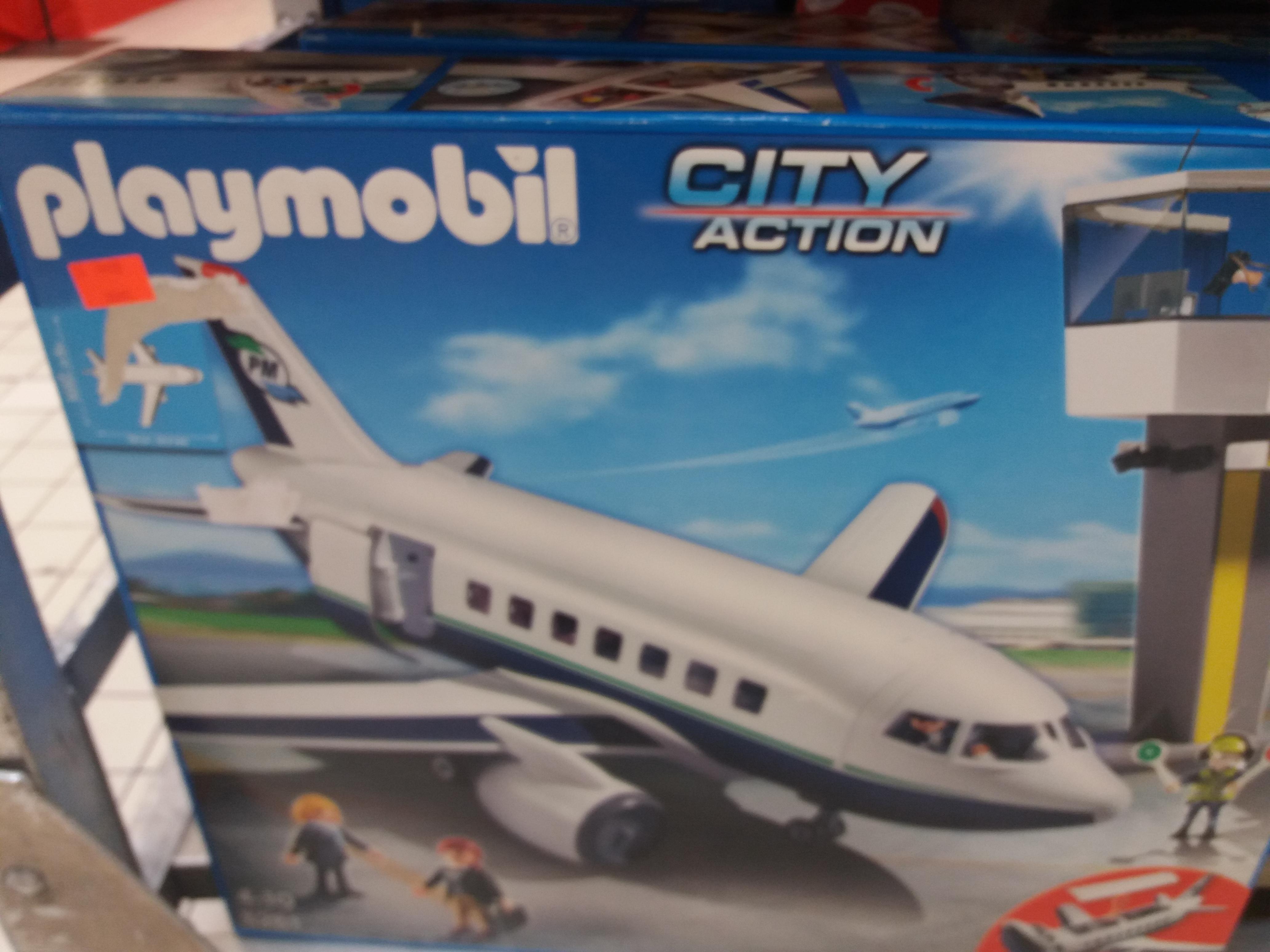 Avion et tour de contrôle Playmobil City Action - n°5261