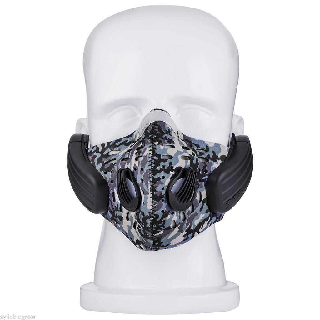 Masque anti-pollution avec écouteurs Bluetooth