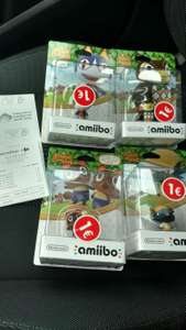 Amiibo Animal Crossing - Différents modèles