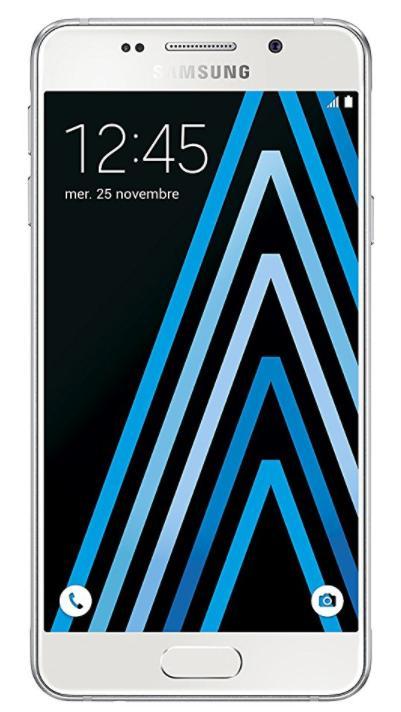 """Smartphone 4.7"""" Samsung Galaxy A3 A310 (2016) - 16 Go blanc"""