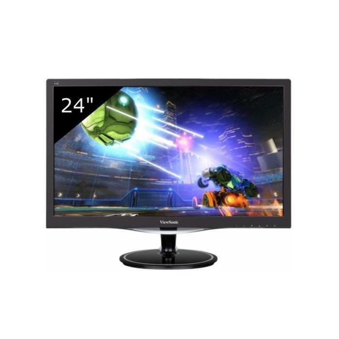 """Ecran PC 24"""" ViewSonic VX2457-mhd - TN, LED, FreeSync, Full HD, 1 ms"""