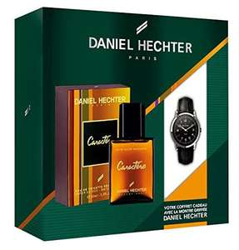 Coffret Daniel hechter Homme Caractère, Eau de Toilette 50 ml  + Montre