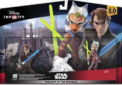 Pack de 2 figurines Disney Infinity 3.0 Twilight of Republic