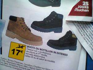 Boots In Extenso Homme (3 Coloris)