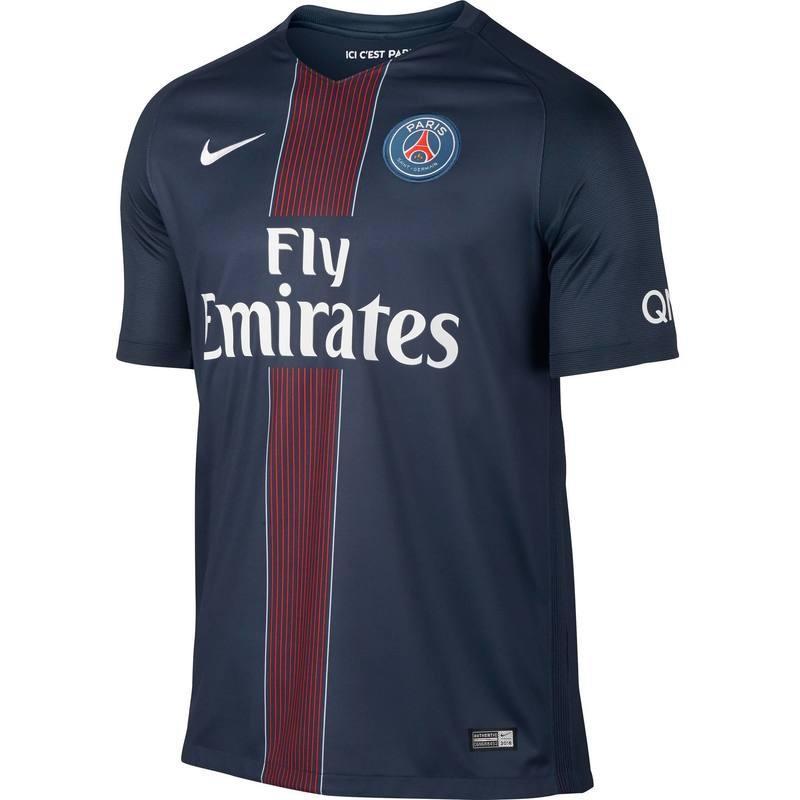 Maillot de football PSG Domicile Adulte pour la Saison 2016-2017 Nike