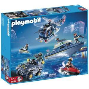 Forces speciales police Playmobil 5844