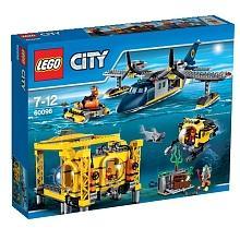 Lego City  La base opérationnelle en haute-mer - 60096