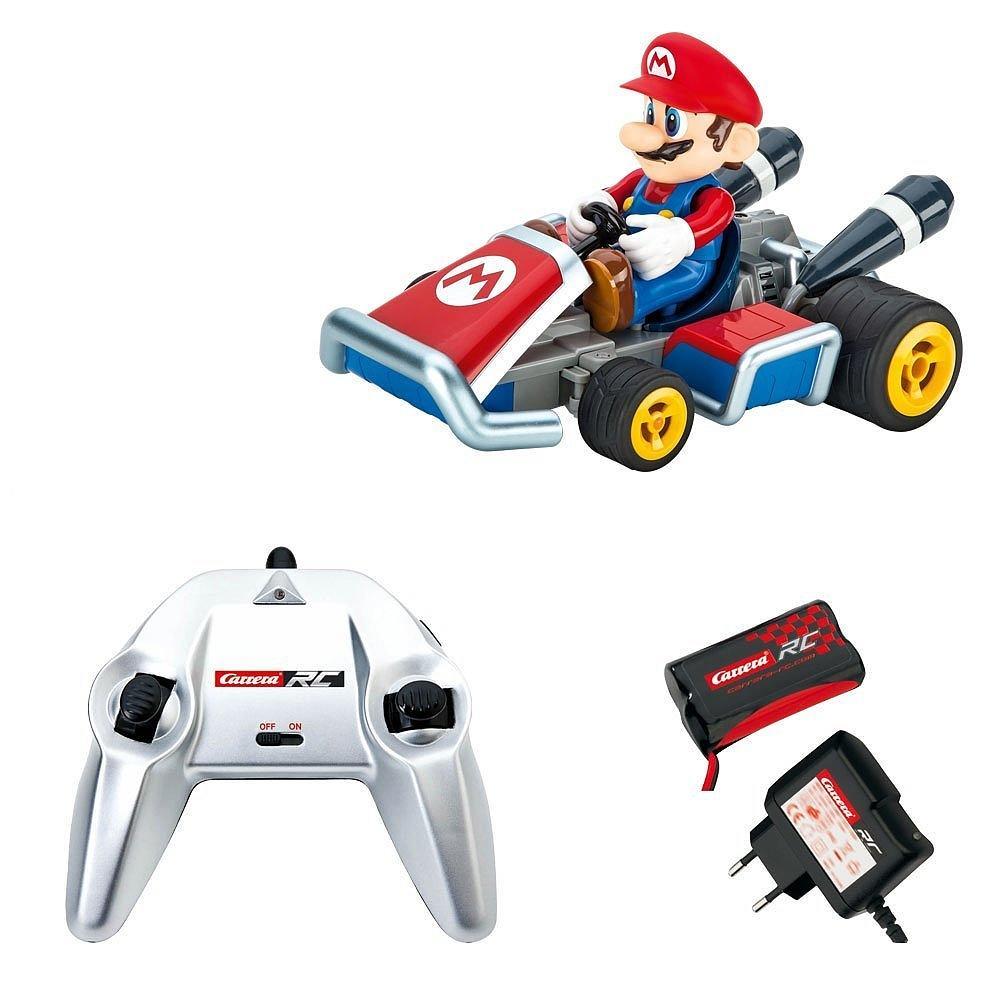 Voiture radiocommandée Mario Kart 7 + batterie
