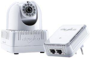 Devolo dLAN LiveCam Starter Kit (Caméra avec CPL intégré + Prise CPL)