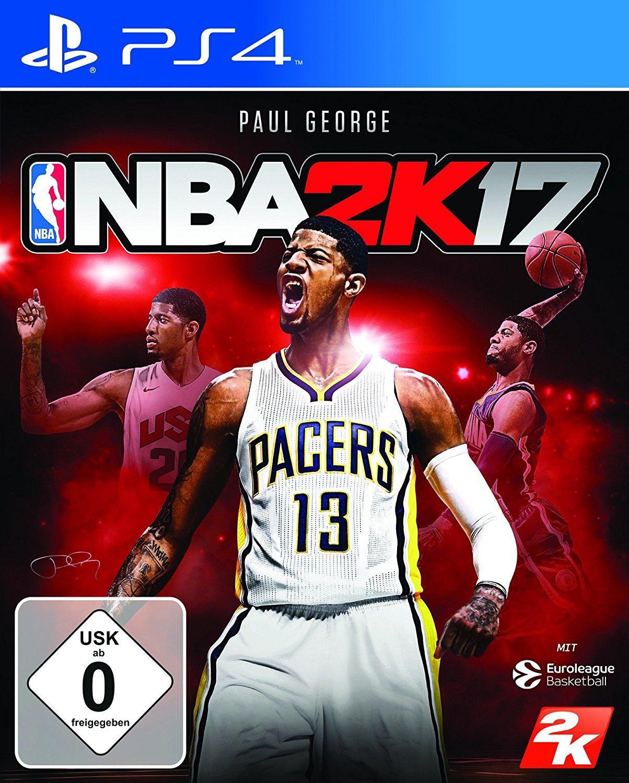Jeu NBA 2K17 sur PS4 et Xbox One