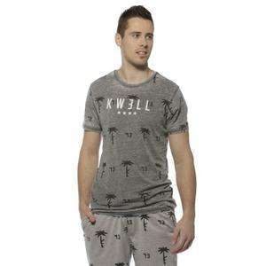 T-shirt homme Kwell - Gris, Taille au choix