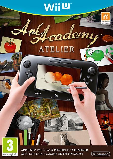 Jeu  Art Academy Atelier sur Nintendo Wii U