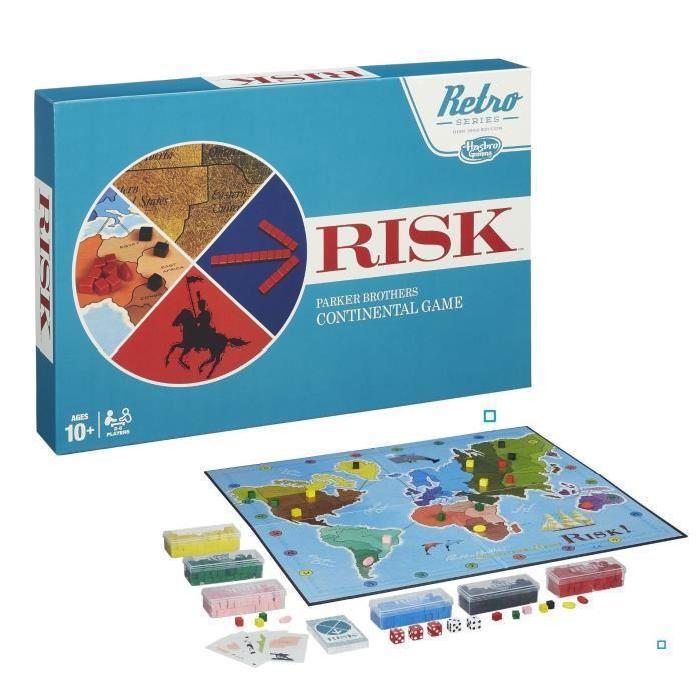 Jeu de société Risk Vintage