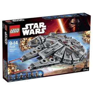Jeu de construction Lego Star Wars Faucon Millenium n°75105
