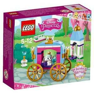 Jeu de construction Lego Disney Princess Palace Pets : Le Carrosse royal de Ballerine n°41141