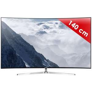 "TV 55"" Samsung 55KS9000, Incurvé - SUHD - 2400 Hz PQI - Smart TV - 4 HDMI - Son 60 W"