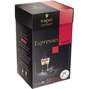 10 dosettes café Planteur des tropiques (Compatible Nespresso)