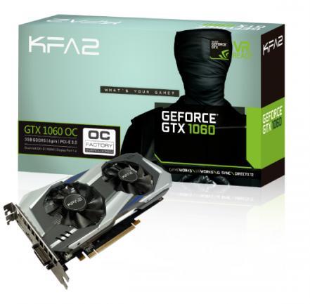 Carte Graphique KFA2- GeForce GTX 1060 OC 3Go DDR5