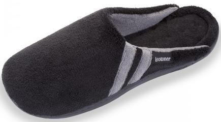 Chaussons Mules X-Tra Confort Noir pour Hommes - Tailles : 42 ou 43