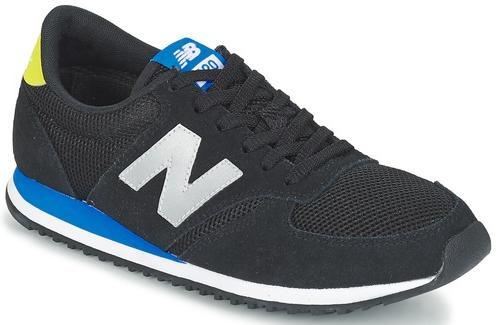 Baskets New Balance U420 Noir / Bleu pour Hommes - Tailles au choix