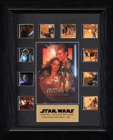 Cadre Pellicule Star Wars, épisode II : L'Attaque des clones - Noir