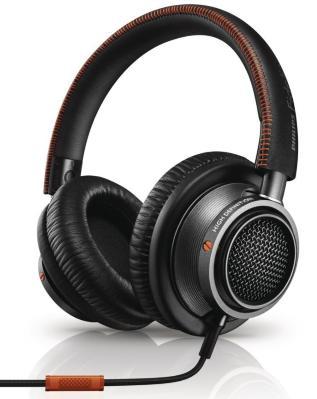Casque Audio Haute Résolution Philips Fidelio L2 avec Micro, Commandes Intégrées et Isolation Phonique - Noir