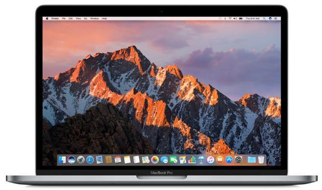 "PC Portable 13.3"" Apple MacBook Pro MLH12FN/A Retina avec Touch Bar - IPS 2560 x 1600, i5, RAM 8Go, SSD 256Go, macOS Sierra"