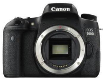 [Adhérents Fnac+] Appareil Photo Numérique Reflex Canon EOS 760D Noir - Boîtier Nu + 59,9€ sur compte de fidélité