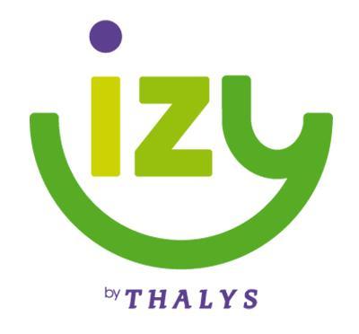 Billet de train IZY (by Thalys) Aller simple  Paris - Bruxelles