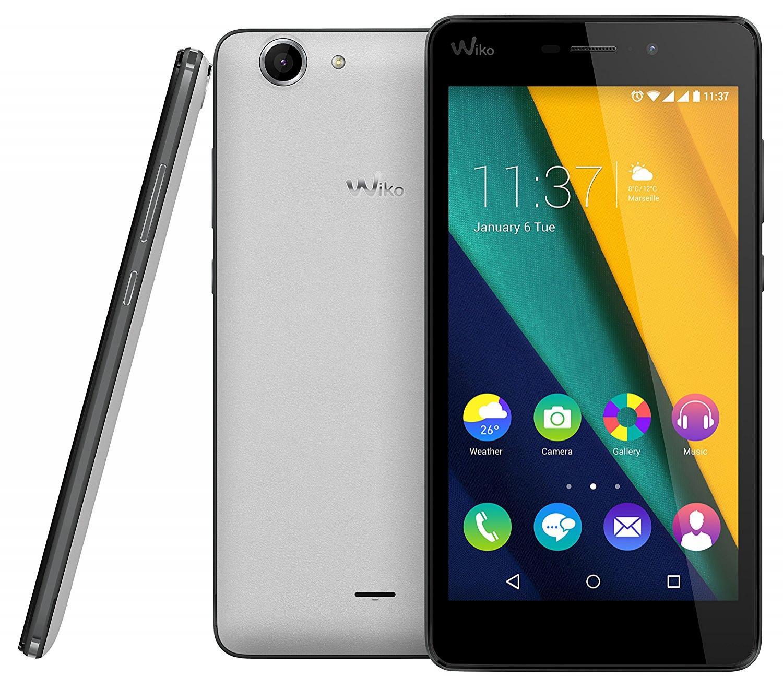 """Smartphone 5"""" Wiko Pulp 3G - 2 Go de RAM, 16 Go, blanc"""