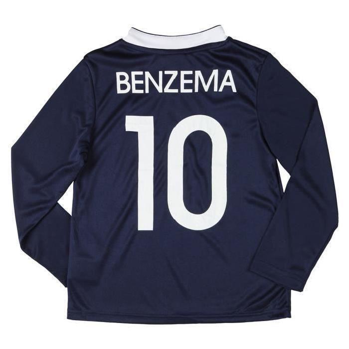 Maillot de Football Enfant Garçon FFF (4 à 5 ans) - Benzema, Pogba, Varane...