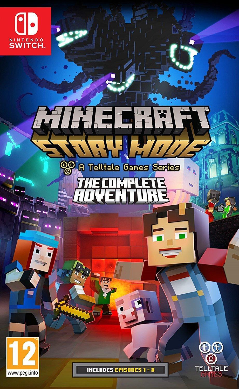 Précommande : Minecraft Story Mode - L'aventure Complète sur Nintendo Switch