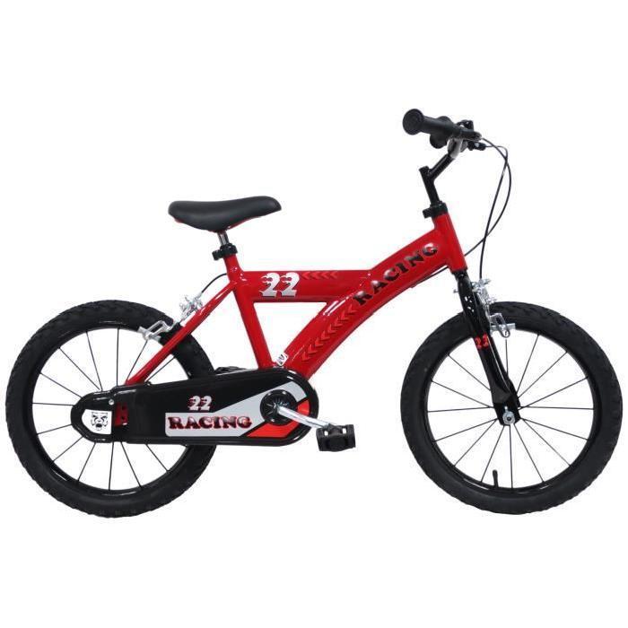 """Vélo 16"""" Orus Racing Plus pour Enfant 4/7 ans"""