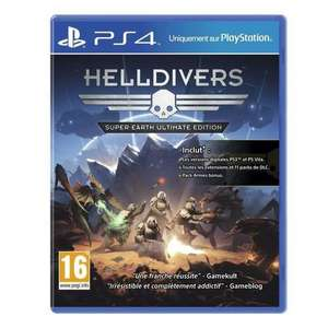 Helldivers Super-Earth Ultimate Edition sur PS4
