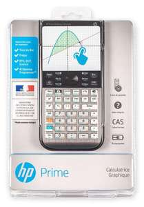 Calculatrice graphique tactile HP Prime mode examen