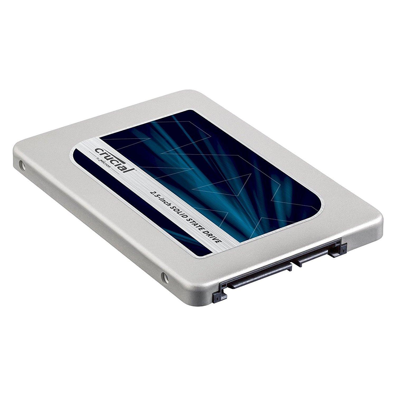 """SSD interne 2.5"""" Crucial MX300 (mémoire TLC 3D) - 525 Go"""