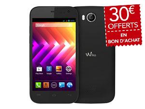 """Smartphone 4.5"""" Wiko Iggy (+ 30€ de bon d'achat, valable dès 200€)"""