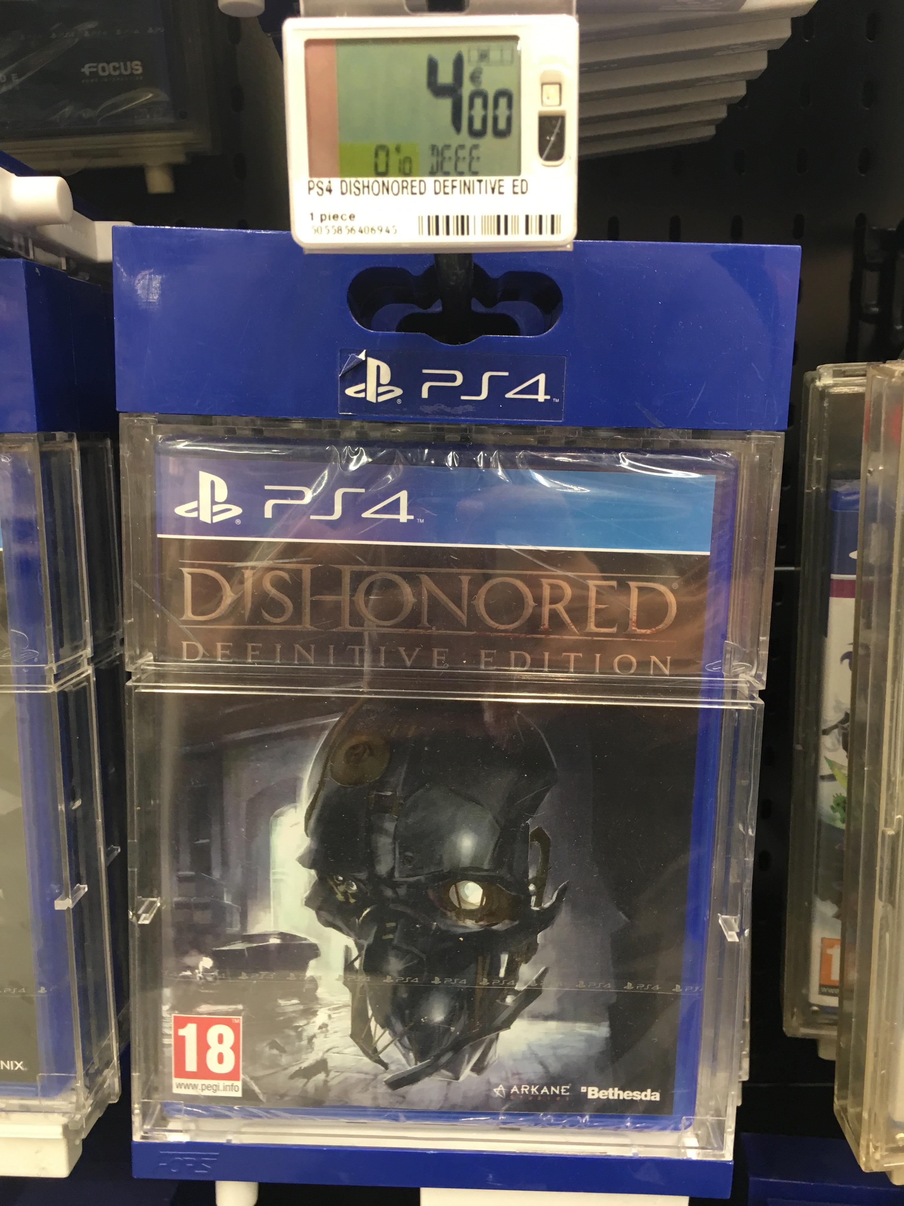 Dishonored Définitive Édition sur PS4