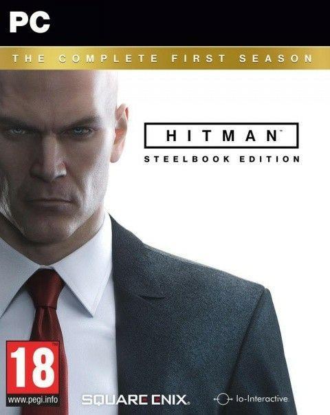 Sélection de jeux vidéo en promotion - Ex : Hitman : The Complete First Season sur PC (avec steelbook)