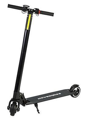 Trottinette électrique HoverGliss - 250 W, noir