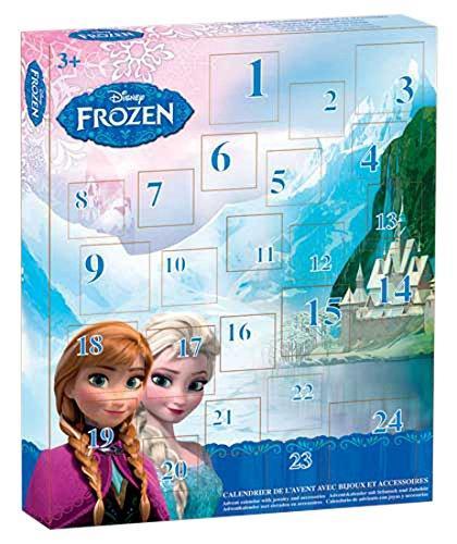 [Panier Plus] Calendrier de l'Avent bijoux Disney Frozen (T15300)