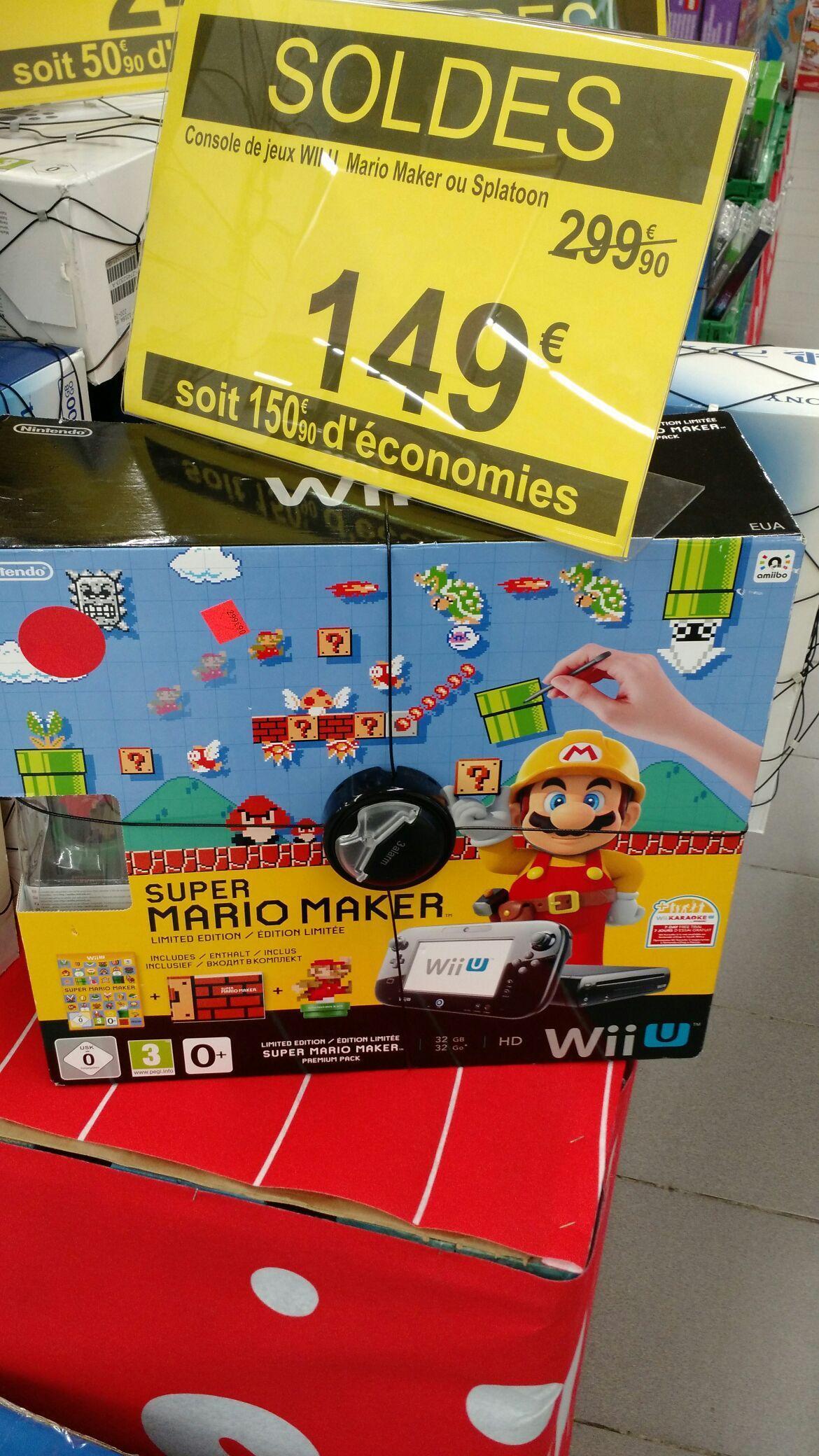 Pack Wii U 32 Go + Super Mario Maker