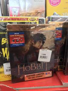 Blu-ray + DVD + Copie digitale - SteelBook Bilbon Le Hobbit : Un voyage inattendu Ultimate Edition