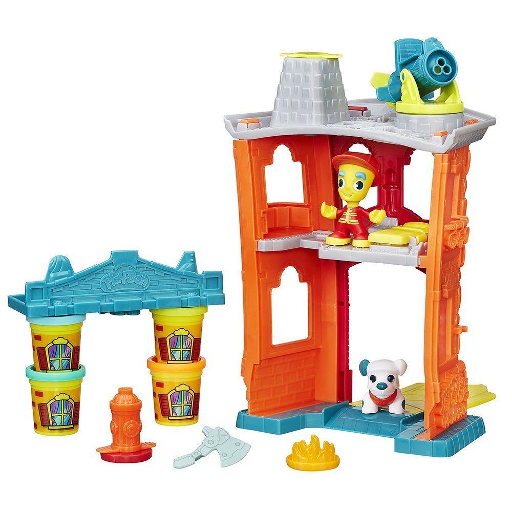 Play-Doh B3415eu40 Town - Maison Pompier