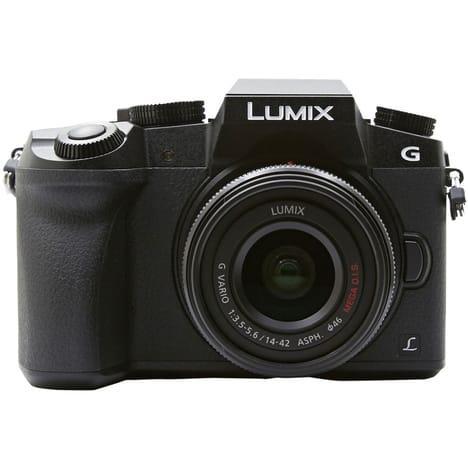 Appareil photo Panasonic Lumix DMC-G7KEF-K + Objectif 14-42mm (via 97.35€)