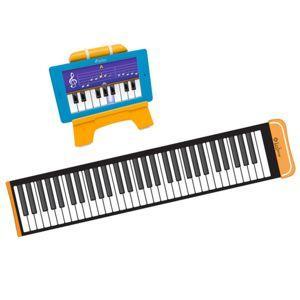 Support tablette avec piano pliable Lexibook (Compatible tablettes Lexibook)