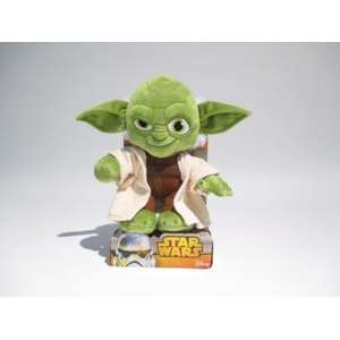 Sélection de Peluche Star Wars de différentes tailles en promotion - Ex : peluche Star Wars Yoda - 25 cm